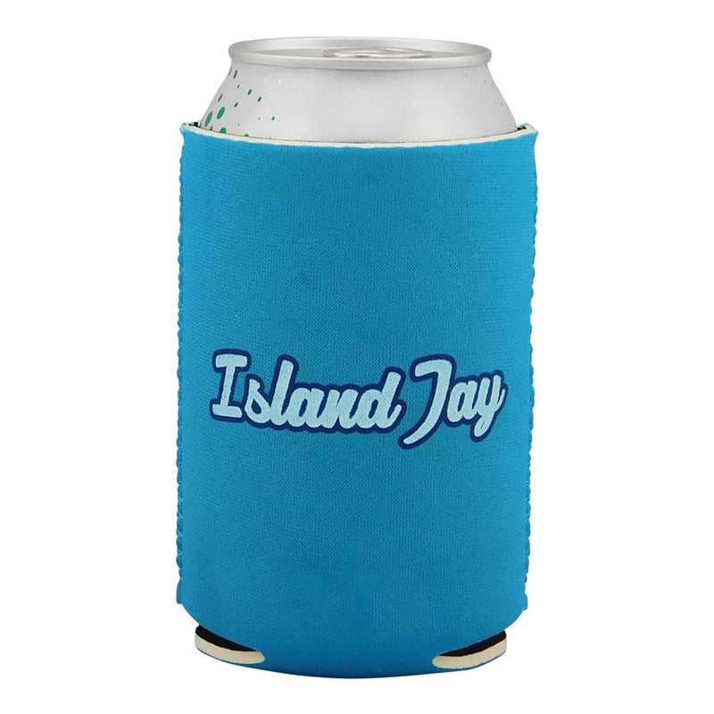 The Beach is my Happy Place Neoprene Drink Cooler Sleeve