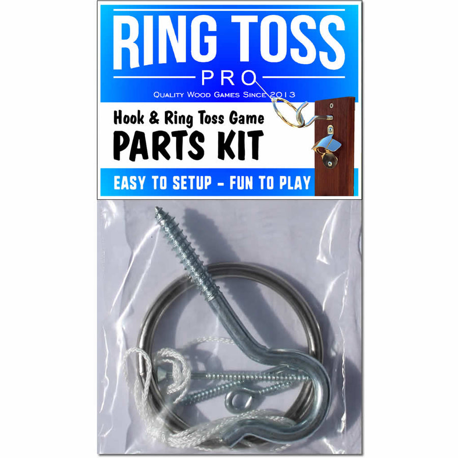 Hook Ring Toss Game Parts Kit