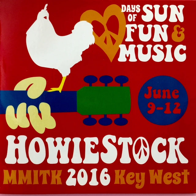 Howard Livingston Howiestock MMITK 2016 Key West CD (Adult Content)