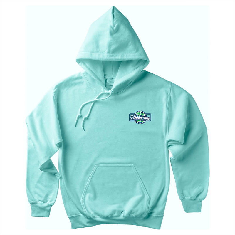 Island Jay Logo Soft Style Pullover Hoodie