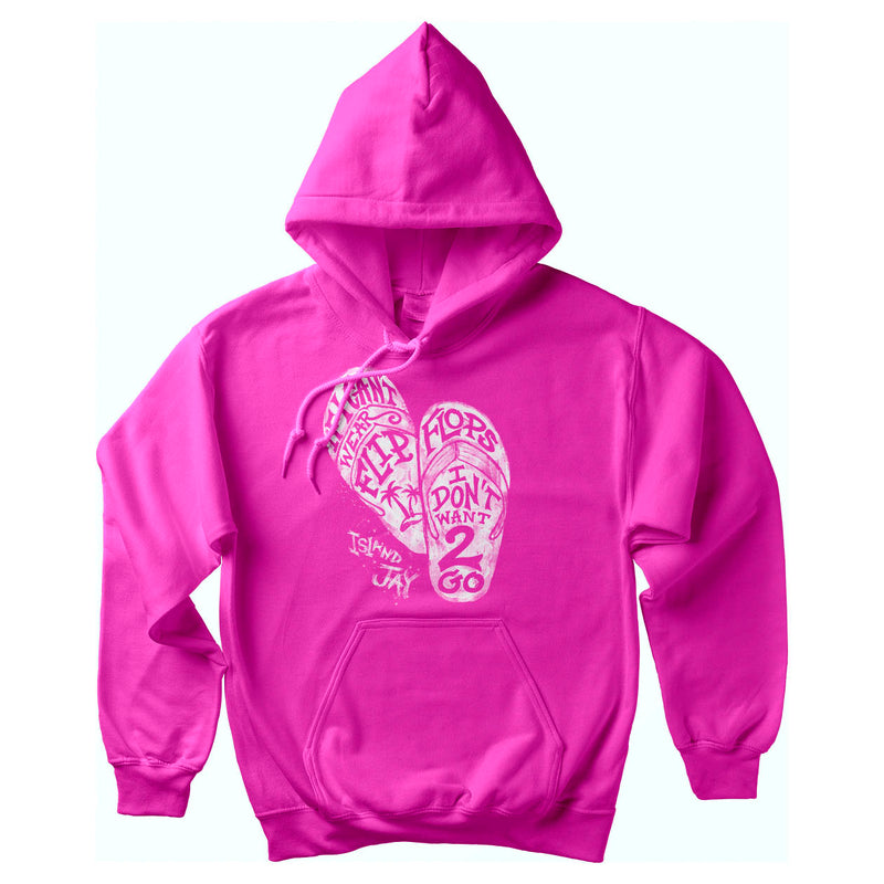 If I Can't Wear Flip Flops Softstyle Pullover Hoodie