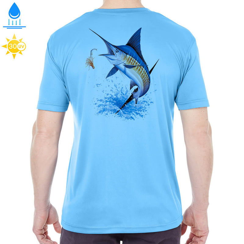 Islamorada Blue Marlin Jumping Performance Shirt