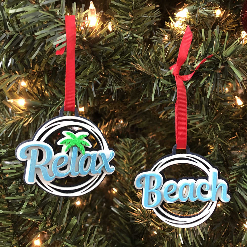 Limited Edition Island Jay Beach Ornaments - Release 1