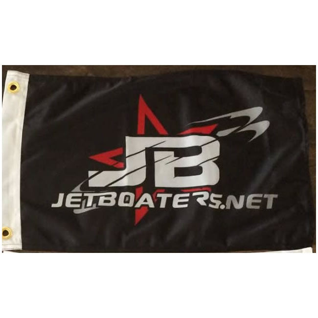 "Jet Boaters 12""x18"" One Sided Flag"