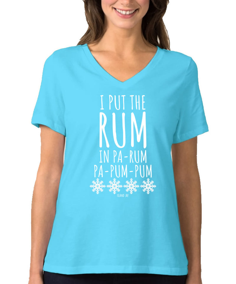 Ladies I Put The Rum In Pa-Rum
