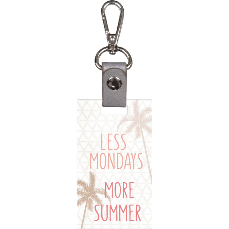Less Mondays More Summer Keychain