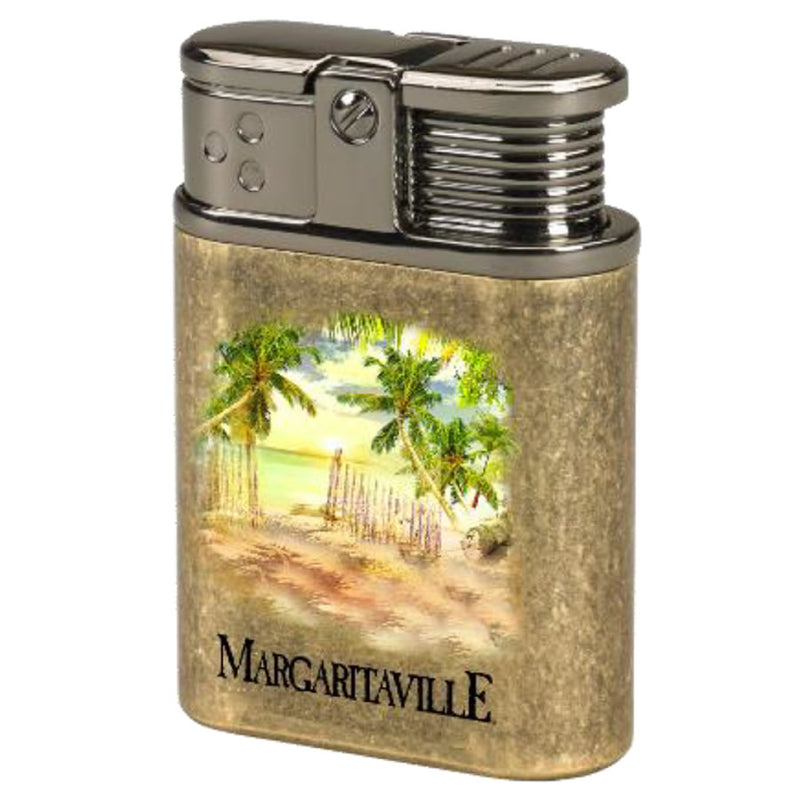 Margaritaville Table Lighter - Brass Palm Trees
