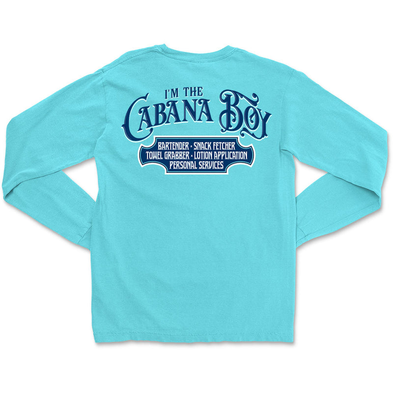 I'm The Cabana Boy Long Sleeve T-Shirt