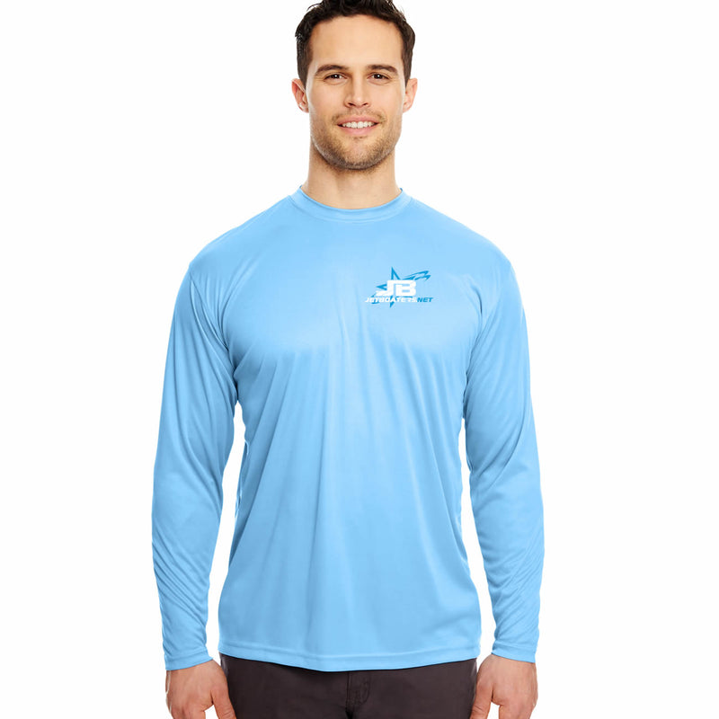 Mens Jet Boaters 2018 Bimini Trip Performance Long Sleeve Shirt