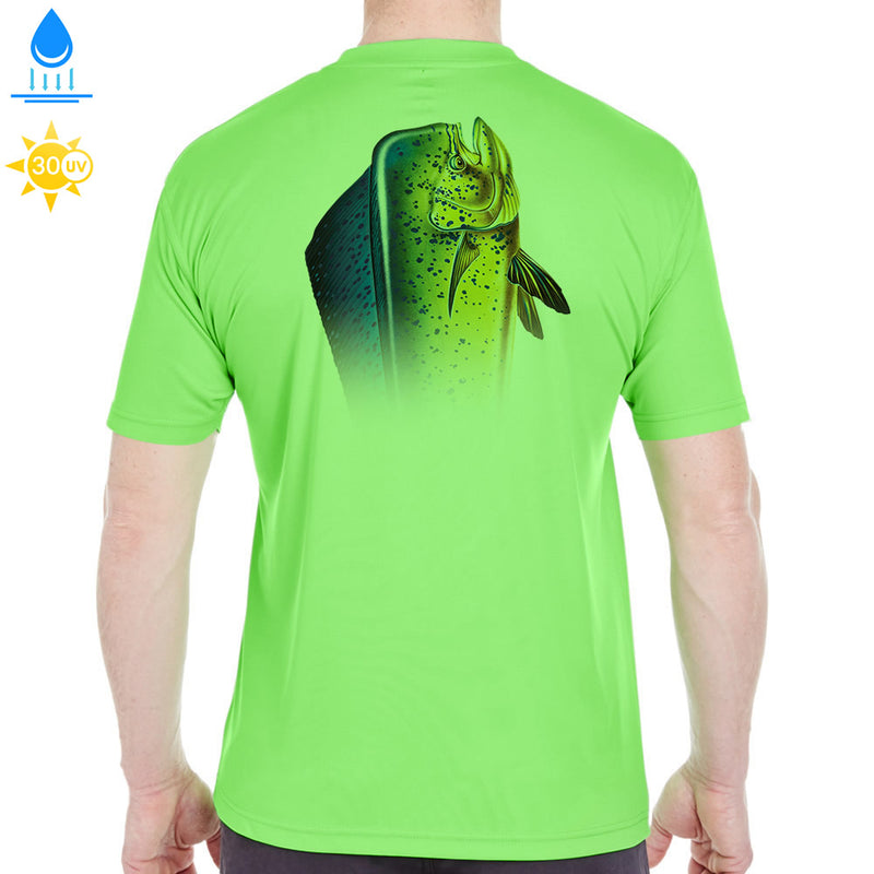 Key Largo Big Head Mahi Mahi Performance Shirt