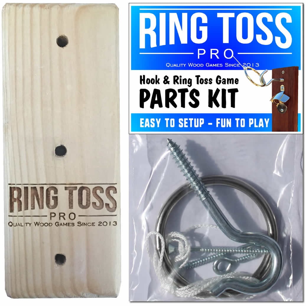 Mini Ring Toss Game,Hook/&Shot Ladder Game,2 Hooks 2 Ring Toss-The Shot Ladder Game Board Handmade Wooden Shot Glass,Indoor Outdoor for Endless Hours of Fun Sports Novelty Toy