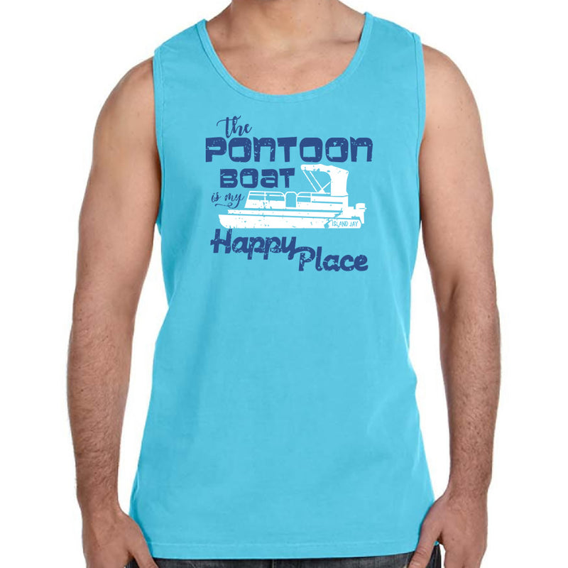 The Pontoon Boat is my Happy Place Tank Top