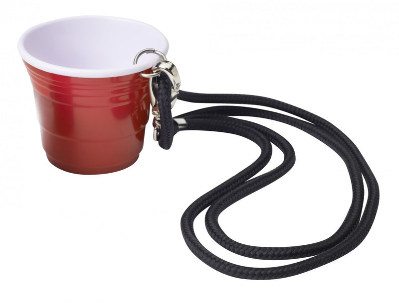 Red Cup Living 2 oz Shooter Cup With Lanyard