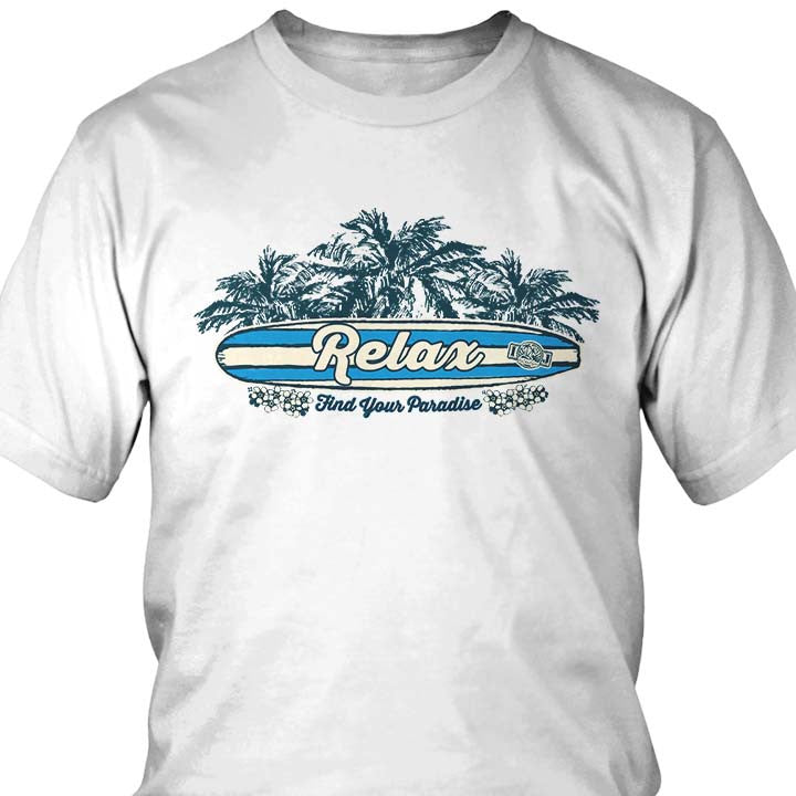 Relax Find Your Paradise T-Shirt