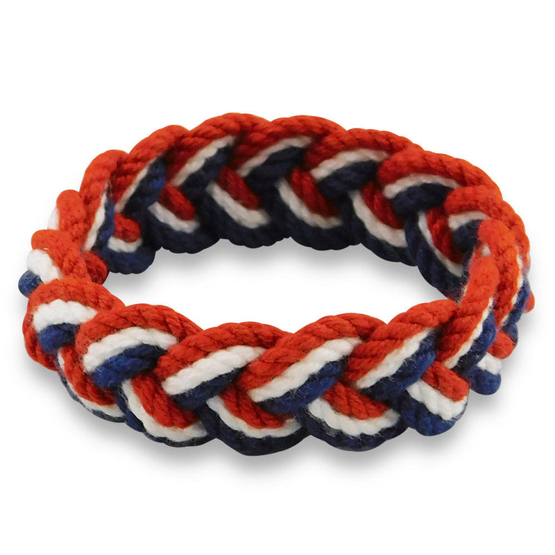 Sailor Knot Bracelet Red & White & Blue