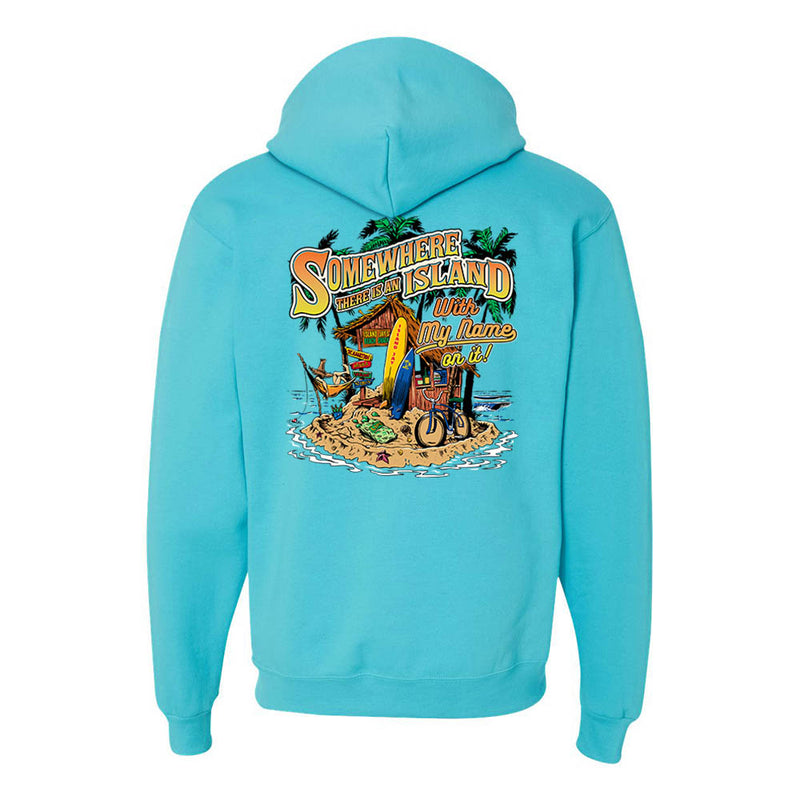Somewhere There Is An Island Soft Style Pullover Hoodie