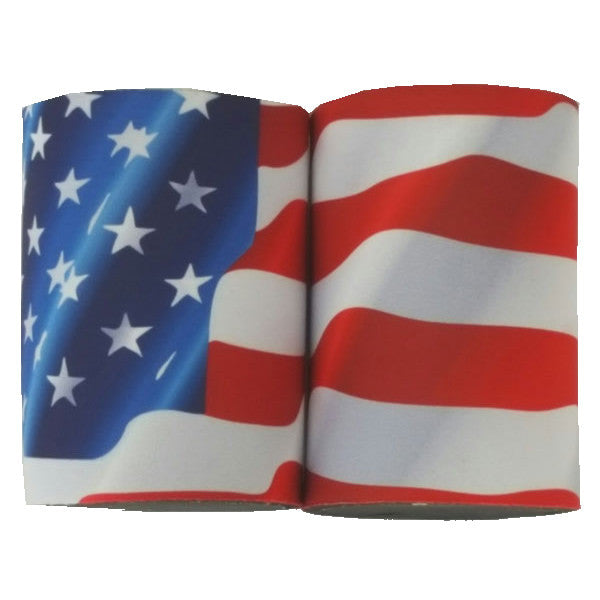 Stars & Stripes Neoprene Drink Can Cooler Sleeve