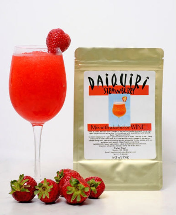 Wine Slushie Guy - Strawberry Daiquiri Wine Drink Mix