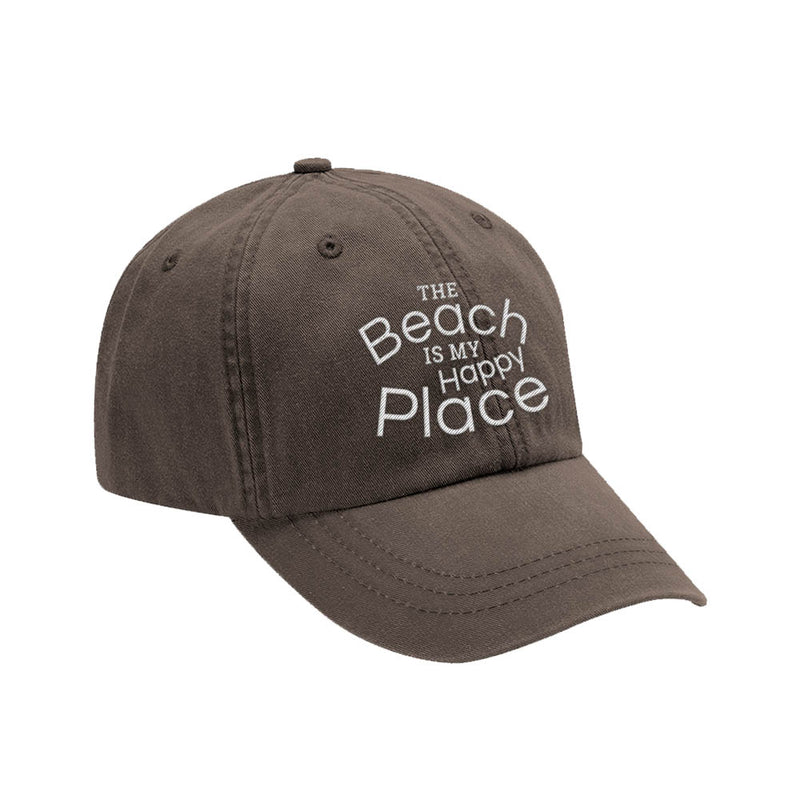 The Beach Is My Happy Place Hat