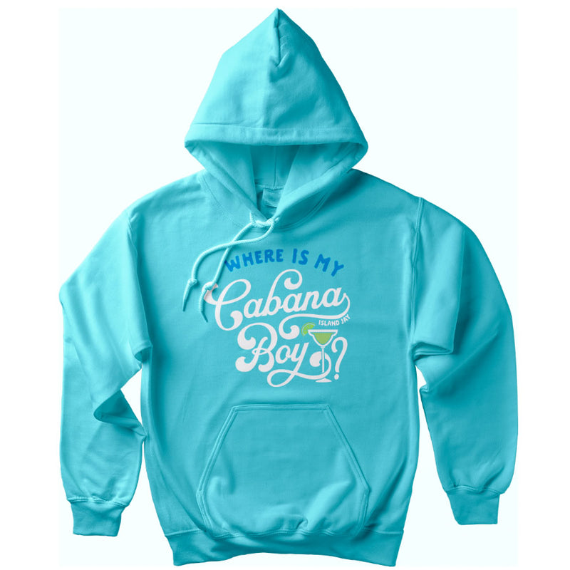 Where is my Cabana Boy Soft Style Pullover Hoodie