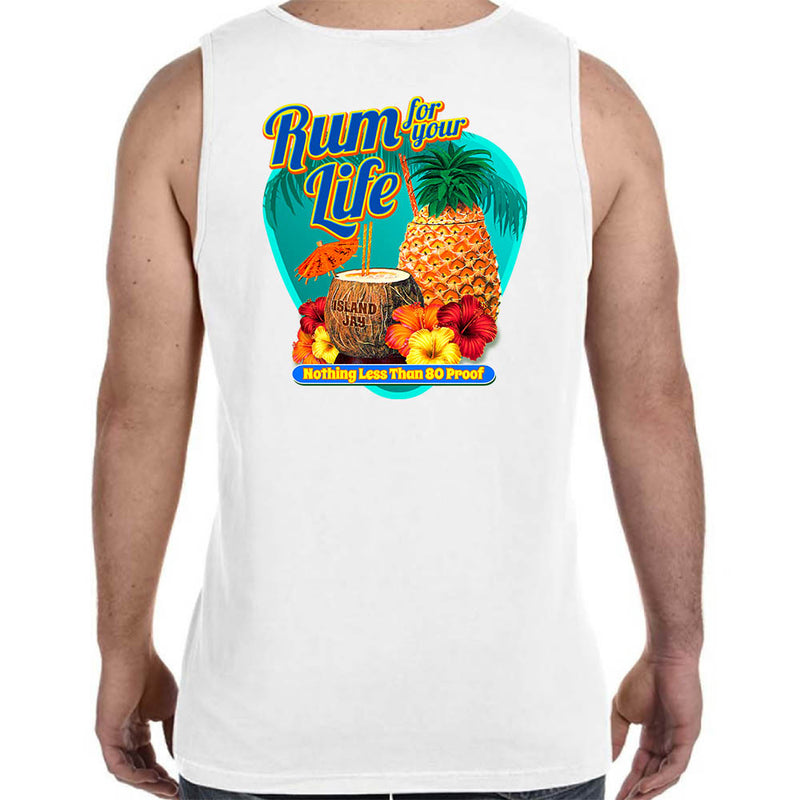 Rum For Your Life - 80 Proof Tank Top