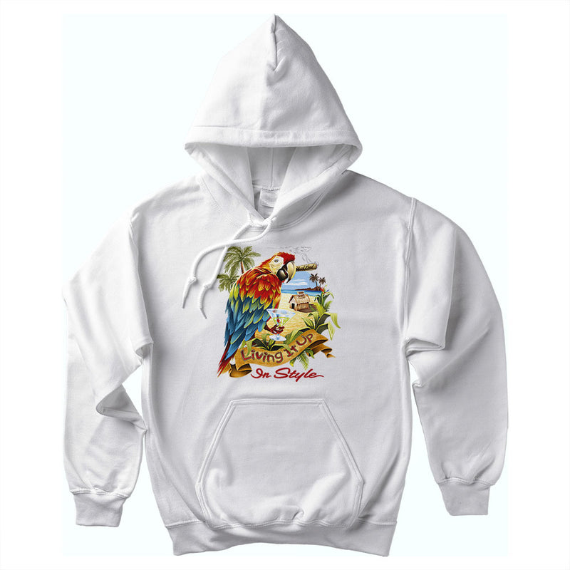Living It Up In Style Soft Style Pullover Hoodie