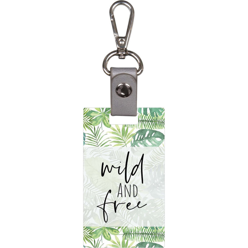 Wild And Free Keychain