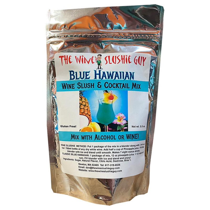 Wine Slushie Guy - Blue Hawaiian
