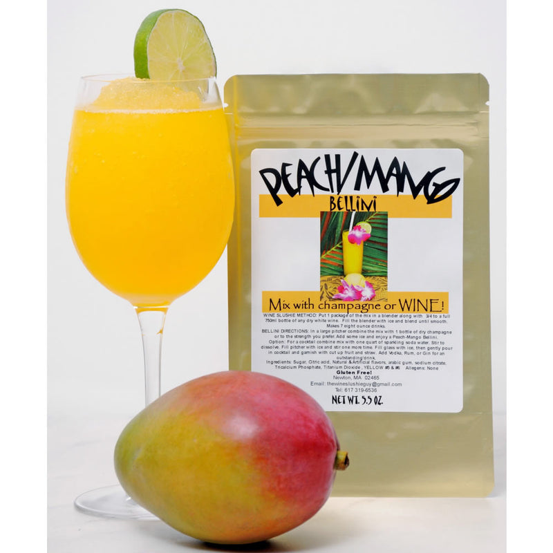 Wine Slushie Guy - Peach Mango Bellini  Drink Mix