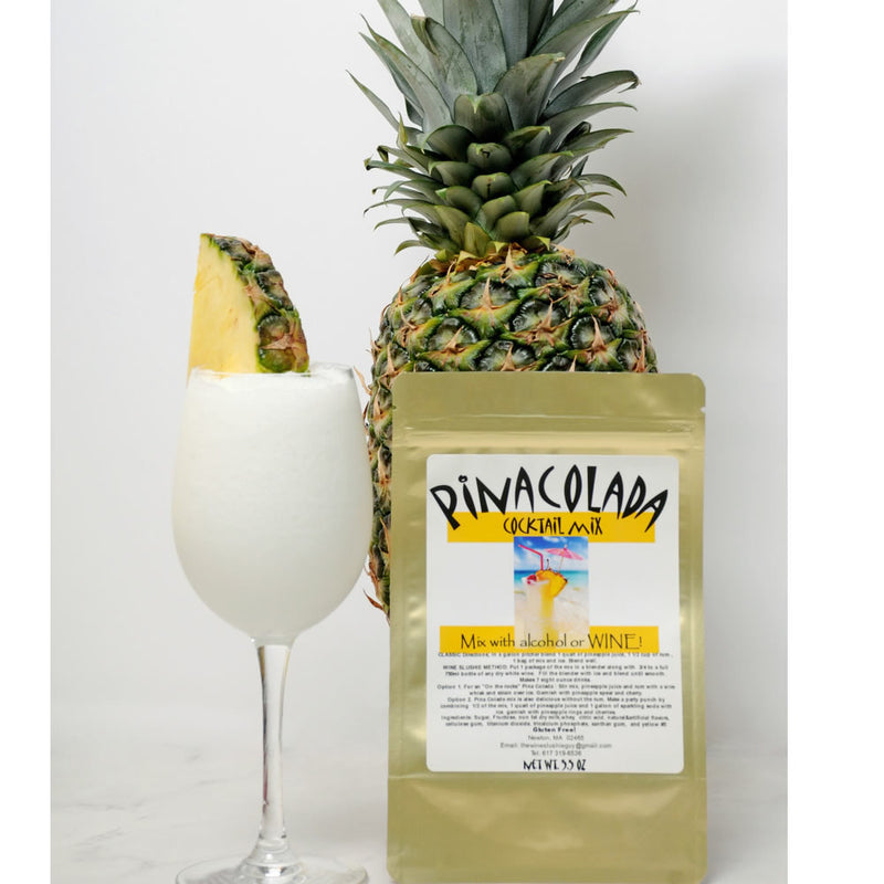Wine Slushie Guy - Pina Colada Drink Mix