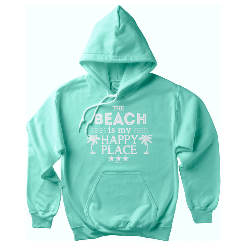 The Original Beach is my Happy Place Soft Style Pullover Hoodie