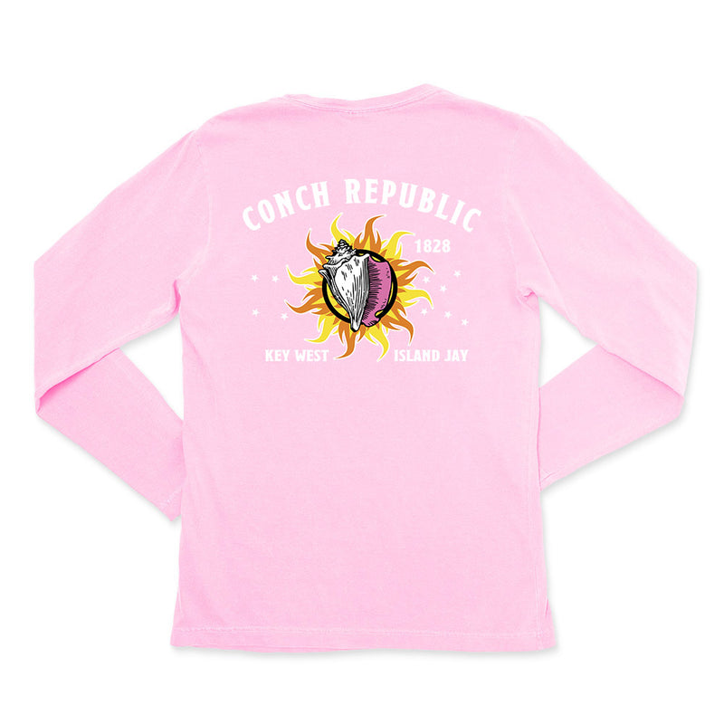 Ladies Conch Republic Key West Long Sleeve T-Shirt