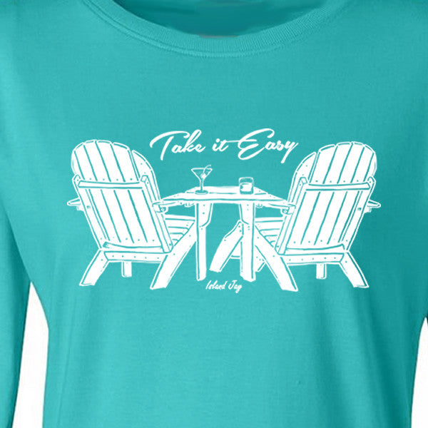 Ladies Take it Easy Long Sleeve T-Shirt