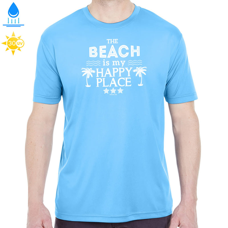 The Beach is my Happy Place Performance Shirt