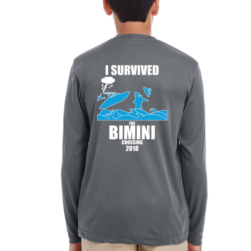 Youth Jet Boaters 2018 Bimini Trip Performance Long Sleeve Shirt