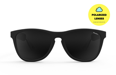 Snowbird - Black / White_sunglasses_subscription_polarized_shades_club_aviator_clubmaster_wayfarer_cateye_mirrored