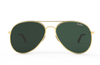 No-Tangle Aviators Sunglasses (Patent Pending Nose Pads) - 6 color options