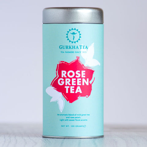 Rose Green Tea - Gurkha Tea   - 1