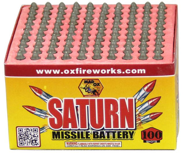 100'S Saturn Missile Battery - Jeff's Fireworks