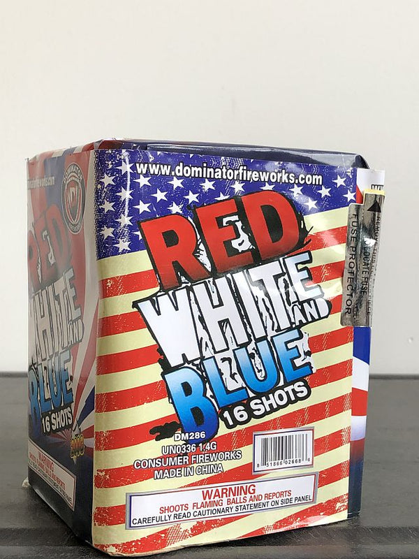 Red White & Blue Bombs - Jeff's Fireworks