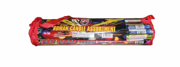 Poly Pack Roman Candle - Jeff's Fireworks