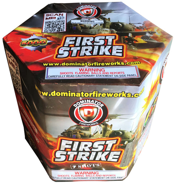 First Strike - Jeff's Fireworks