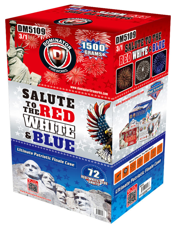 Salute To the Red, White & Blue - Jeff's Fireworks