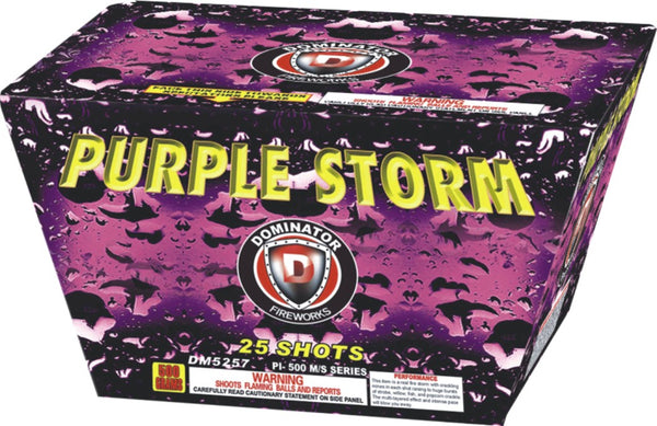 Purple Storm - Jeff's Fireworks