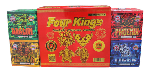 Four Kings - Assorted Case - Jeff's Fireworks