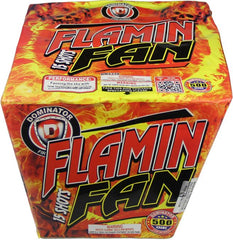 Flamin Fan 15 Shots - Jeff's Fireworks