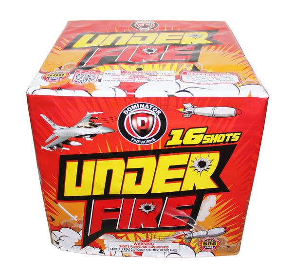 Under Fire - Jeff's Fireworks