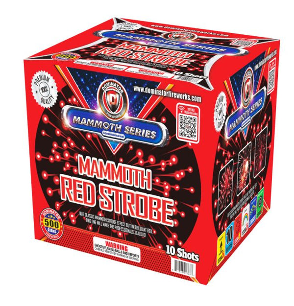 Mammoth Strobe Red - Jeff's Fireworks