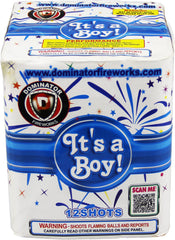 It�s A Boy - 12 Shot Cake