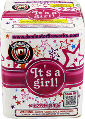It�s A Girl - 12 Shot Cake
